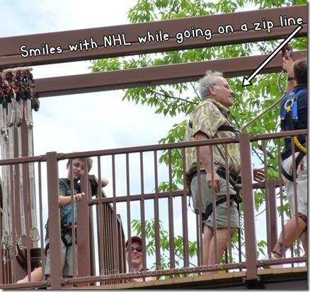 zip line smiles