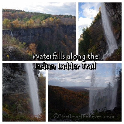 Waterfalls along the Indian Ladder Trail