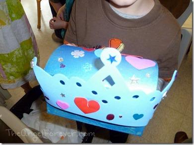 Crown and Treasure Box