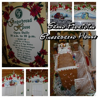 Gingerbread House at Disney's Grand Floridian Resort