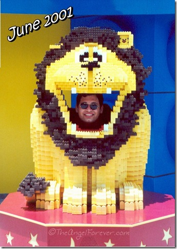 LEGO Lion at Downtown Disney