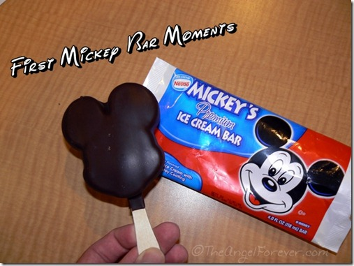 First Mickey Bar Moments