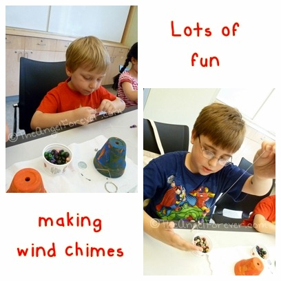 Making Wind Chimes