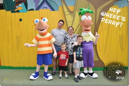 Phineas and Ferb at Hollywood Studios