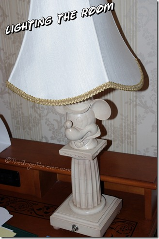 Mickey Lamp at Grand Floridian Resort