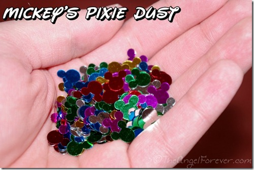Pixie Dust from Magic Kingdom Opening