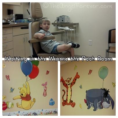 Kid friend doctor waiting room