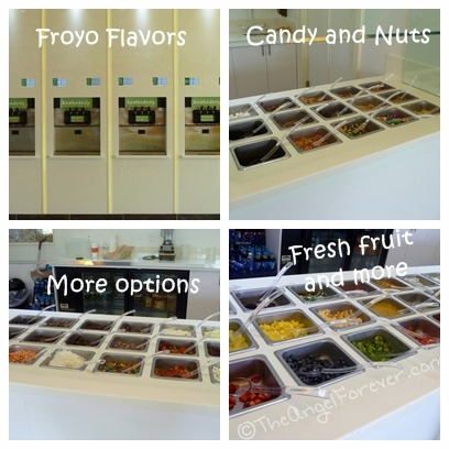 Froyo toppings at Lemon Tree