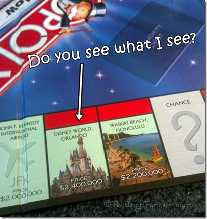 Walt Disney World on Monopoly Here and Now