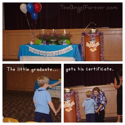 Nursery school graduation