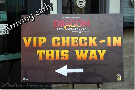 VIP Entrance - How to Train Your Dragon Live Show