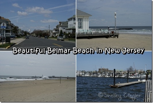 Belmar Beach in New Jersey
