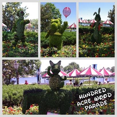 Epcot Flower and Garden Winnie the Pooh