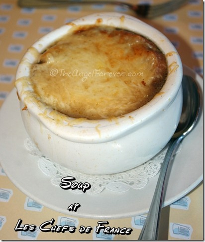 French Onion Soup at Les Chefs de France in Epcot