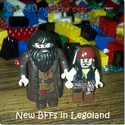Hagrid and Captain Jack Sparrow
