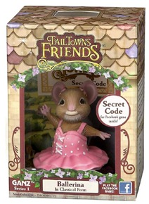 Tail Towns Ballerina Figure in Box