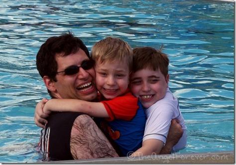 Pool time in Saratoga