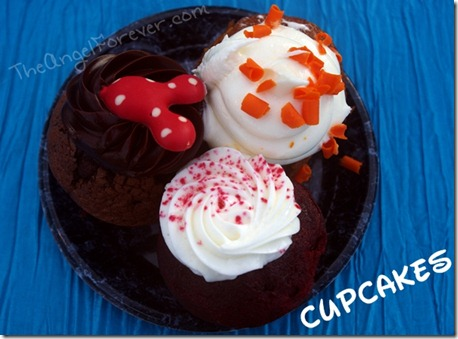 Walt Disney World Cupcakes