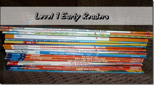 Level 1 Early Reader Books