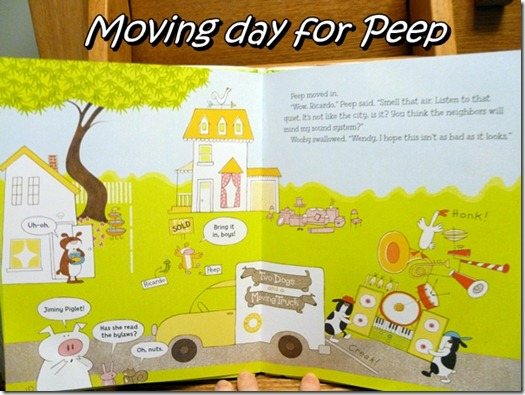 Peep moves in by Wooby