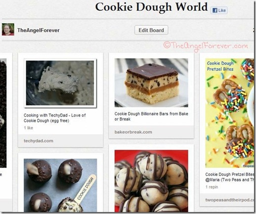 Pinterest Cookie Dough World