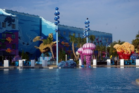 Largest pool in Walt Disney World