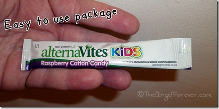alternaVites package for kids