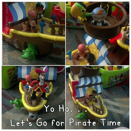 Jake and the Never Land Pirate play time