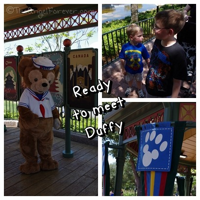 Ready to meet Duffy at Epcot
