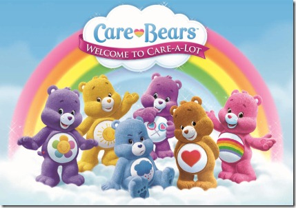 Care Bears Welcome to Care-A-Lot Logo