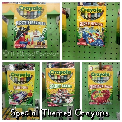 Crayola Themed Crayons at Target