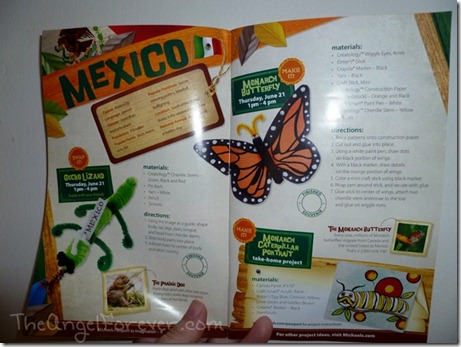 Mexico Passport to Imagination Page
