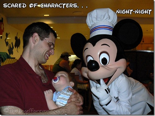 First character meal at Chef Mickey