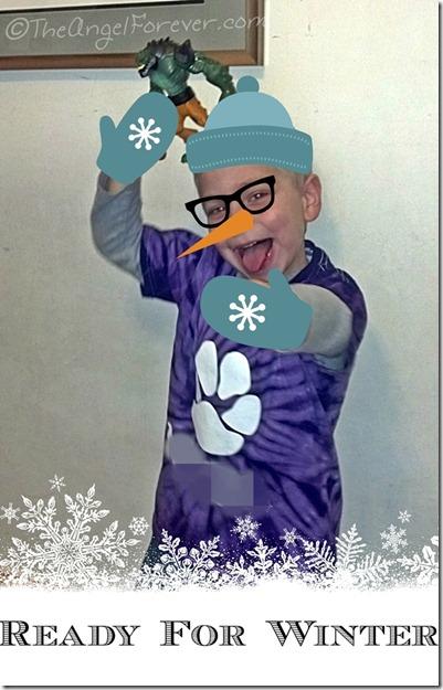 Little guy ready for winter