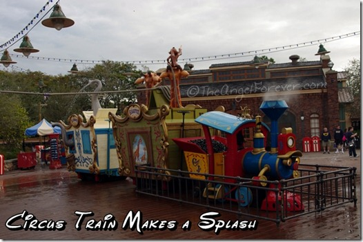 Storybook Circus Splash Area