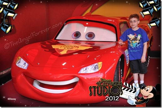 Meeting Lightning McQueen
