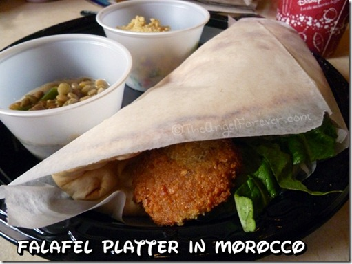 Falafel Platter in Morocco at Epcot