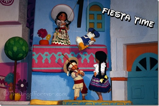 The Gran Fiesta Tour Starring the Three Caballeros at Epcot