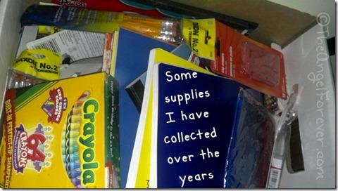 School Supply Stash