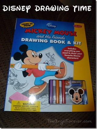 Mickey Mouse Drawing with Walster Foster