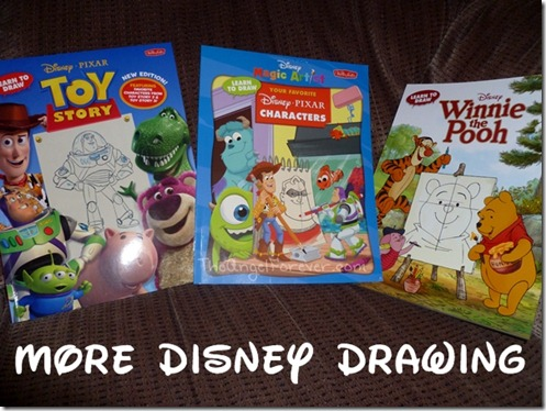 Walter Foster Disney Drawing Books
